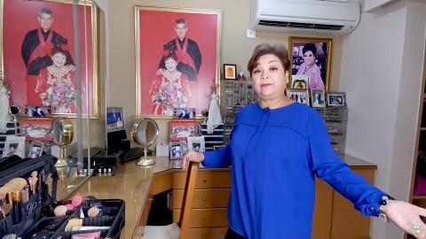 肥媽拍片介紹化妝間由丈夫親手設計 自爆家中首飾全購自淘寶:偉大發明