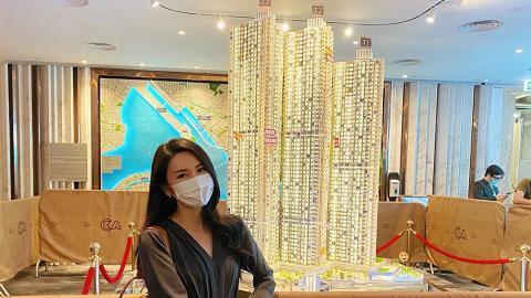林作女友裕美買800萬樓被質疑收入來源 揶揄高學歷男友:會考零分賺錢多過牛津畢業