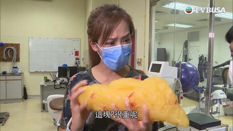 【東張西望】腰圍71.5cm吳幸美實測日本內臟操 靠做3個動作兩星期勁減6.5cm