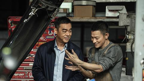 【拆彈專家2】與劉德華相隔18年再合作默契不減 劉青雲拍動作戲難忘被吊八層樓高