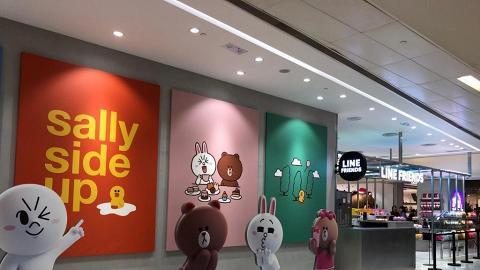 LINE FRIENDS Store沙田新城市分店結業 開業兩年 為首間設Café座位新界區分店