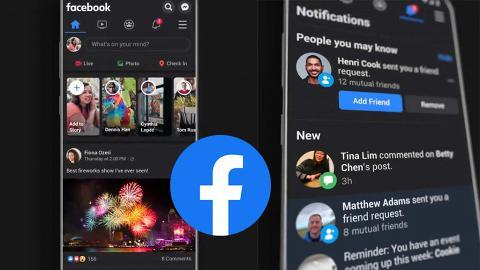 Facebook暗黑模式全球正式推出 iPhone有得用!簡單步驟換Dark Mode介面