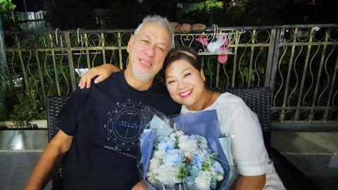 肥媽丈夫不敵癌魔肺炎併發症離世 沉痛宣布愛人死訊:親愛的老公安息