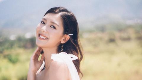 余香凝曬透視婚紗相大騷性感事業線 豐滿上圍令網民驚訝:禾稈冚珍珠