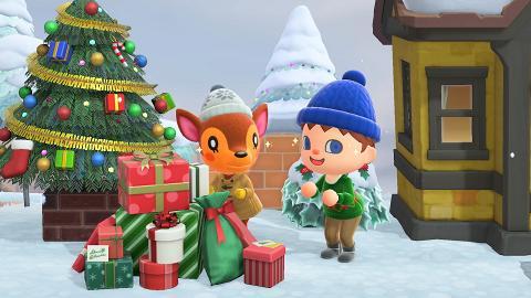 【動物森友會/動物之森】冬季免費更新聖誕節/感恩節主題 全新髮型、表情+季節限定家具