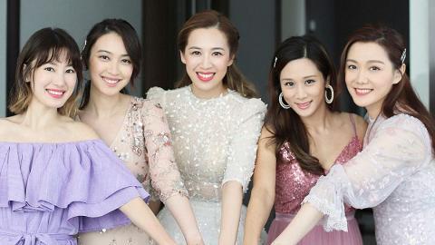 湯洛雯賀岑杏賢出嫁送結婚禮物 親手為好姊妹製作婚禮花球勁有心