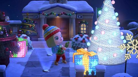 【動物森友會/動物之森】更新聖誕節平安夜攻略任務換獎勵 13大聖誕家具DIY+聖誕服飾