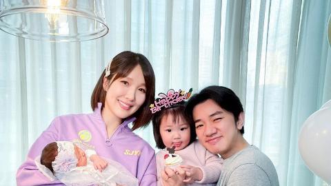 36歲李亞男宣布誕下第二胎囡囡 王祖藍報喜再做爸爸:最緊要係個樣唔好似我