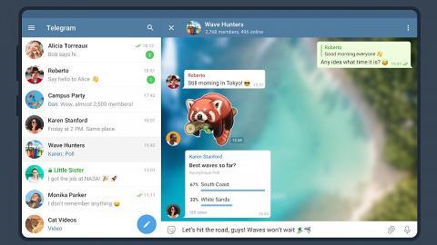4大Telegram更新重點一覽 支援群組語音通話 Android/iOS用家各有新功能!