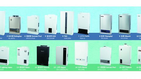 【消委會】評測20款熱水爐 平價熱水爐性價比高 不輸近萬元款式 一文睇13款高質熱水爐
