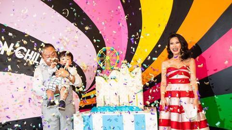 【璀璨帝國Bling Empire】Christine Chiu台裔名媛誇張炫富 豪洗百萬兒子生日宴任夾Gucci手袋