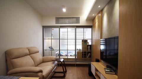 屯門350呎公屋裝修 夫婦25萬打造日系簡約家居 加設和室地台變一家三口溫馨部屋
