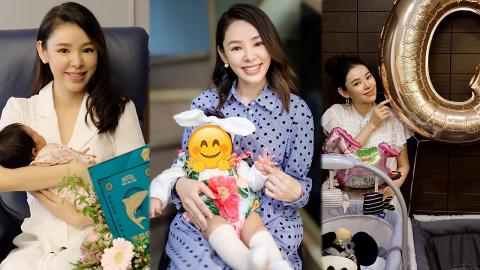 譚凱琪囡囡正面靚樣首次曝光 BabyG精靈大眼勁可愛遺傳媽媽優質基因
