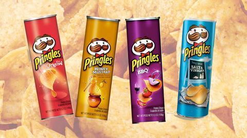 網民票選全球12款最好味Pringles品客薯片排行榜 原味入圍頭三名!人氣口味奪冠軍