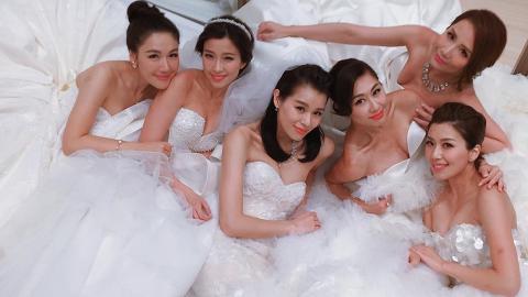 李施嬅生日前宣佈婚訊成胡說八道會第3位人妻 細數6位好姊妹感情狀況仲有兩人未嫁住
