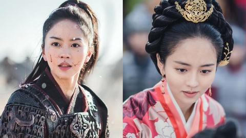 【月升之江】21歲金所炫擔正演平岡公主古裝扮相唯美 回顧童星出身戲劇之路蛻變成女主角