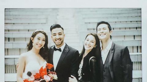 陳凱琳慶祝弟弟結婚罕曬三姊弟合照 低調大家姐曝光 曾因妹妹太靚感自卑有童年陰影