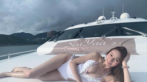 星二代林鈺洧IG大派福利分享泳照曬出驕人身材 父親曾是TVB小生 失散多年全靠Facebook相認