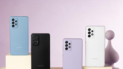 【5G手機】Samsung中階手機Galaxy A52 5G開箱 價錢親民/微距鏡頭/內置AR Filter