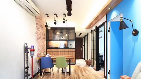 港男置業後出租單位儲裝修錢自學設計 一年後花29萬打造451呎夢想家居