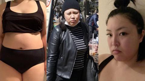 80後肥妹一年狠心減30kg 不用節食靠2大秘訣亦能練出腹肌脫胎換骨