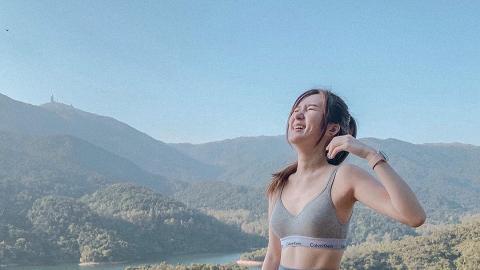 港女話行山男友帶曬裝備 去到卻搭的士直上山頂扮行山 IG打卡:假日上山流下汗好滿足