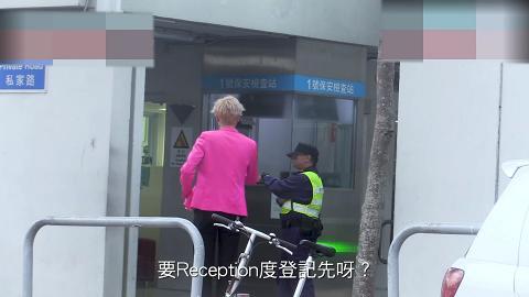 193@ERROR到TVB電視城踩場片段被翻炒 喺門口大騷舞技展現搞笑細胞