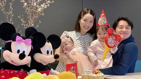 41歲王祖藍與2歲囡囡遊樂園合照 網民表示兩父女似兄妹!毛舜筠都話似哥哥同妹妹