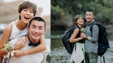 37歲洪永城宣布與梁諾妍結婚  IG曬甜蜜婚照:娶到你是我的福氣
