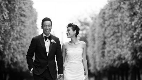 陳茵媺曬婚照慶祝結婚8周年 發表愛的宣言冧陳豪 兩公婆感嘆快樂不知時日過