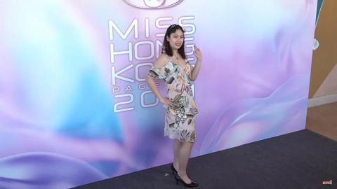 【香港小姐2021】「佛祖」佳麗打入港姐第二輪面試 Kirsten獲林作加持:推爆佢成為冠軍