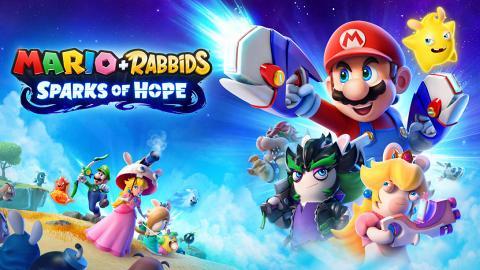 【瑪利歐+瘋狂兔子希望之星】Switch遊戲2022年推出!闖蕩銀河系星球冒險拯救同伴Spark