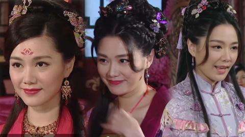 【一笑渡凡間】湯洛雯歷年6個古裝扮相唯美有仙氣 曾三度演嫵媚妓女被封新一代古裝美人