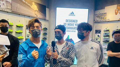【MIRROR星蹤】Ian+AK+Lokman出席運動服裝品牌宣傳 三子粉絲群再度迫爆海港城