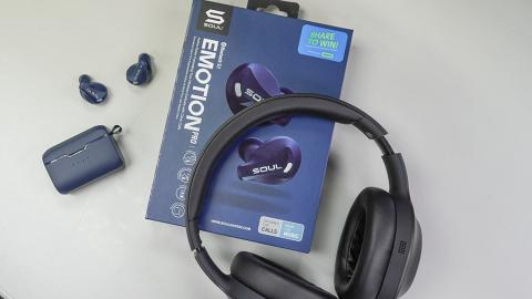Soul新耳機開箱!入耳式耳機可隨時切換連接裝置/頭戴式耳機採用折疊式設計 耳機新手入門之選