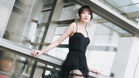 33歲連詩雅透視裝大騷42吋逆天大長腿 172cm身高完美示範「胸以下全是腿」