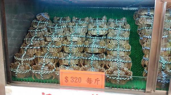 大閘蟹比上年平一成