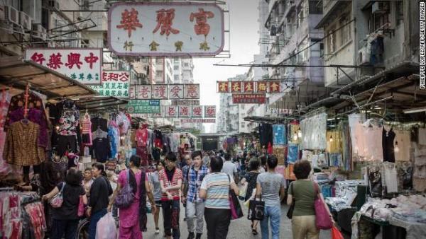 香港行低稅制,沒有消費稅