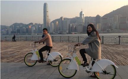 悠遊西九單車服務4月14日起正式啟用