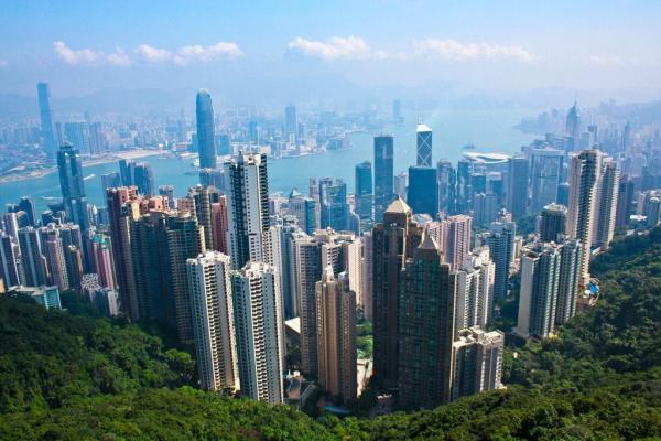 20. 山頂給予另一角度的景色(圖片來源: globalpost)