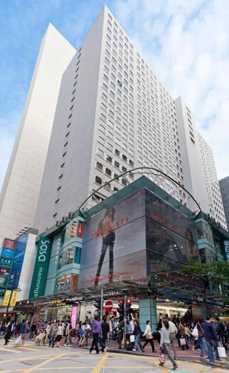 亞洲最大H&M旗艦店將於2015年夏季進駐銅鑼灣恒隆中心