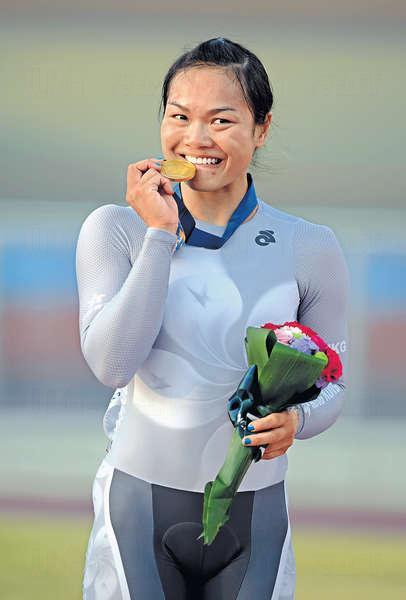 李慧詩 (單車) - 女子競輪賽金牌得主