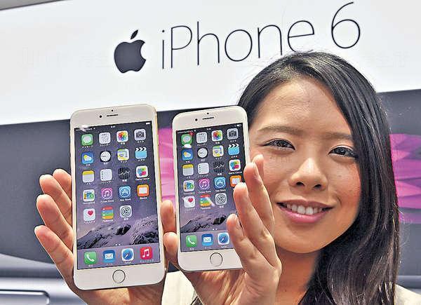 iPhone 6及6 Plus用電量低但可玩性高,真正做到「一機在手,世界通行」。(資料圖片)