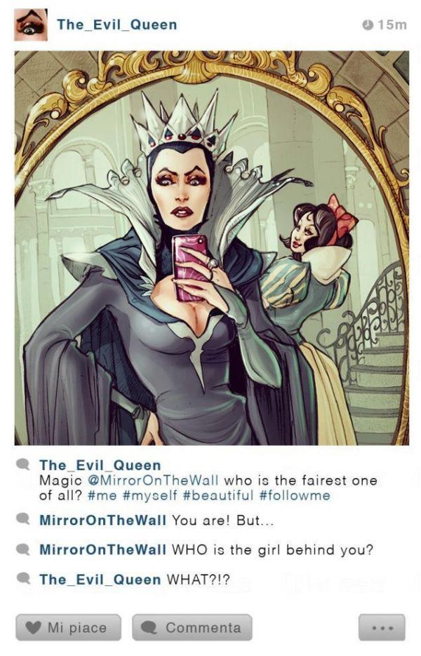 《白雪公主》邪惡皇后