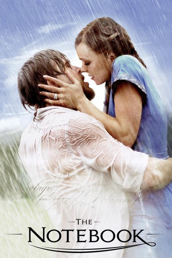 重演電影' The Notebook ' 的 Notebook kiss