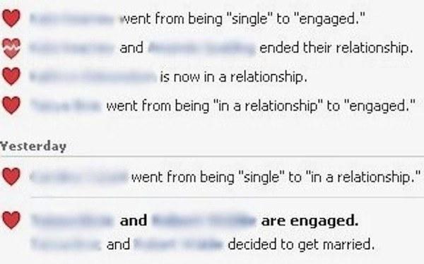 18歲時:隨時更新關係的進展