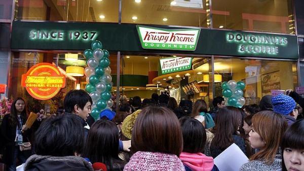 Krispy Kreme – 曾在香港曇花一現。