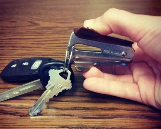 9. 除針器來開鑰匙圈
