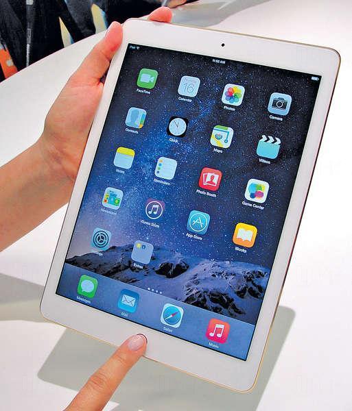 電池縮水 iPad Air 2維修難度高 (資料圖片)