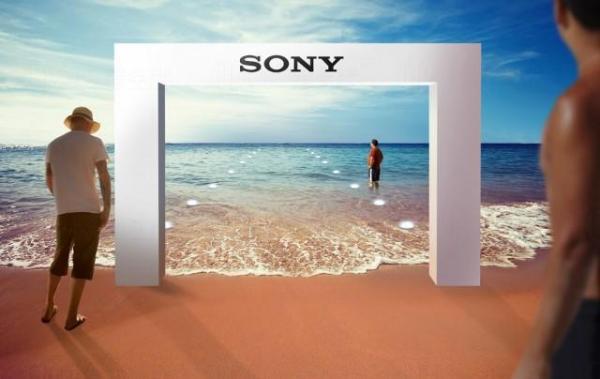 Sony杜拜設水中零售店 (網上圖片)